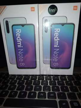 Xiaomi Redmi NOTE 8 4/64 Resmi TAM Baru/Anyar