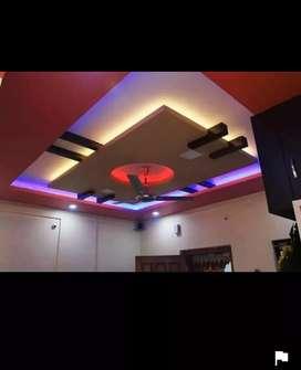 HBT p.o.p. false ceiling design work