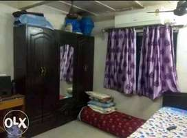 1 RK semifurnished house on rent