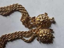 Tali pinggang/gesper antik langka