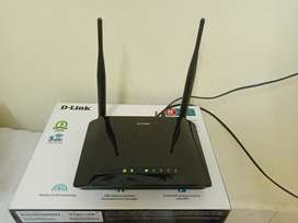 D Link N 300 Router for sale