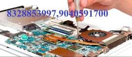 Laptop, Desktop & Printer Repair, Service Charges - 300, Spare Extra