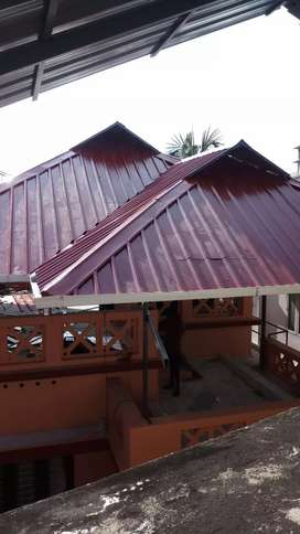 welding work ,Roofing Work (square feet 22)