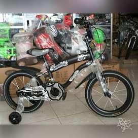 Sepeda BMX 16 inch Merk Family Shield