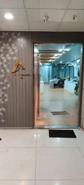 Brand new office in well maintained comercial building