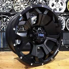 velg mobil ring 17 for Triton, Fortuner, Hilux, Pajero, Panther New