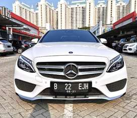 Mercy C250 AMG 2016 KM 13rb ANTIK