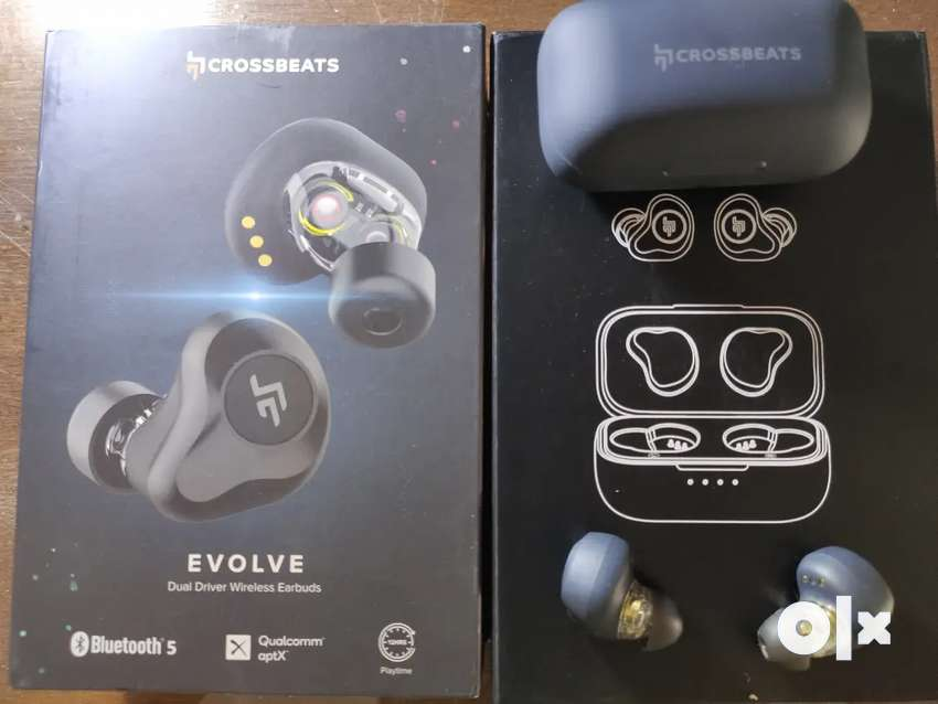 Crossbeats Evolve Bluetooth 5 Wireless Earbuds (TWS)