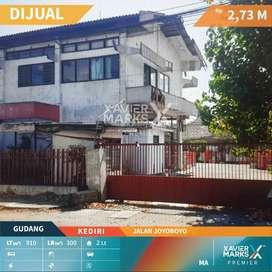 Dijual Gudang/Ruang Usaha 2 LT di jalan Joyoboyo, Kediri, Jawa Timur