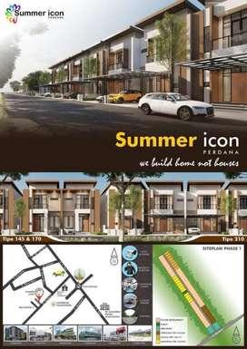 Rumah mewah Summericon Pontianak fasilitas terlengkap harga termurah