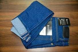 Celana jeans blue wash