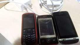 Nokia,LG,Nokia asha and Samsung chargers