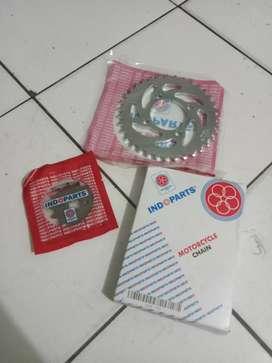 Indoparts Drive Chain Kit Motor Shogun SP