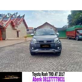 Toyota rush s trd matic 2017/2018,tangan pertama dari baru, km rendah