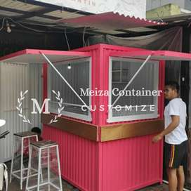 Booth Semi CONTAINER / JASA PEMBUATAN CONTAINER/ CONTAINER COFFE !1