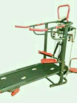 Treadmill manual 6fungsi ada massager GT004