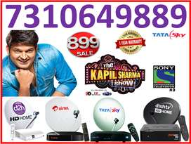 ALL DTH Service Tata sky Gold Pack Airtel TV All India Cash ON Deliver