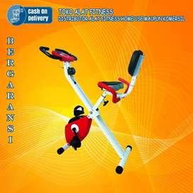 Alat olahraga x bike tl 920 sepeda statis magnetik TOTAL COD Mojokerto