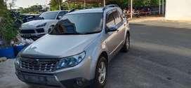 Subaru forester silver