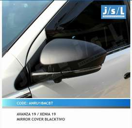 Cover Spion Black Grand New Avanza Xenia Veloz