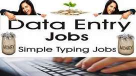 DATA ENTRY WORK HOME BASE TYPING JOB