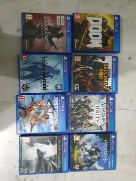 Ps4 games Rs 500 each (no negotiations)
