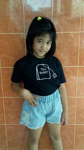 kaos anak tea shirt