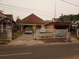Rumah beserta tanah lokasi pinggir jalan letnan murod