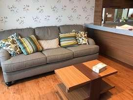 Apartemen 1 bed room siap huni dekat kampus Binus Alam Sutera