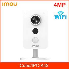 CCTV 4MP Wireless IP Camera with Mic, Speaker, Stand, SD Card