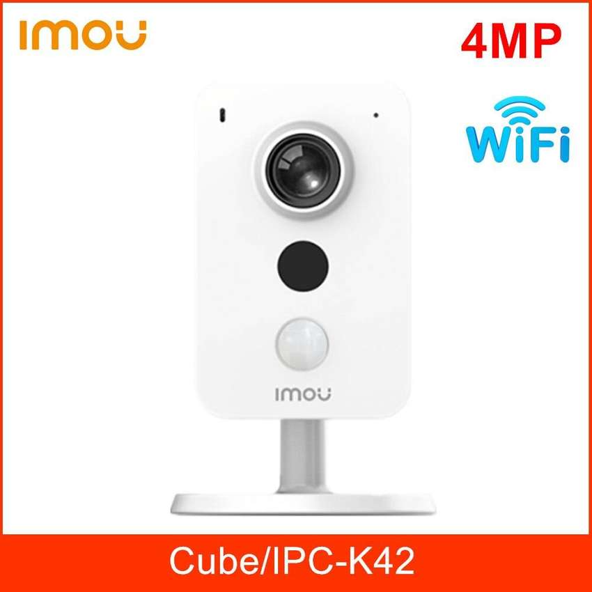 CCTV 4MP Wireless IP Camera with Mic, Speaker, Stand, SD Card 0