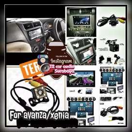 Buat AVANZA/XENIA 2din android link led 7inc full hd+camera hd mumer