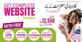 Get Complete Website with Free Corporate Design Offer