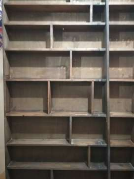 Pure wooden Shelf, cabinet, racks, almari, divider, wardrobe