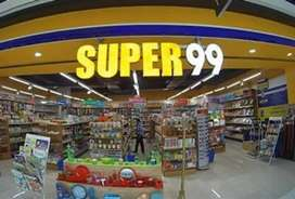Pre-leased showroom of super99 in Mohali mall