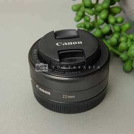Canon 22mm F 2 STM for Mirrorless kode 1019N20
