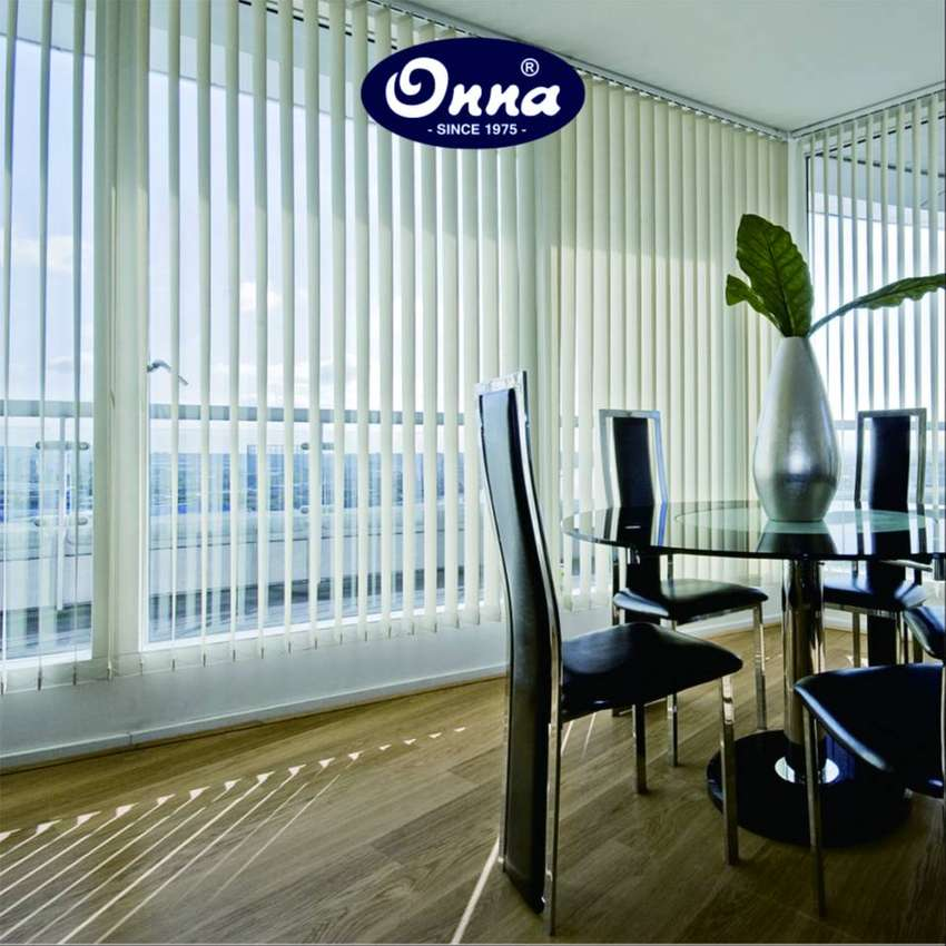Onna Vertical Blinds (Kain Dimout Standard) Seri 71xx Untuk Kantor 0