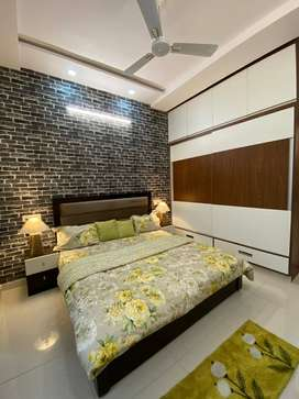 VERY NEAR TO AIRPORT ROAD 2BHK FULLY FURNISHED LUXURY FLAT IN MOHALI