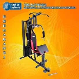 Alat olahraga homegym 1 sisi tl 008 beban 50 kg TOTAL COD Mojokerto