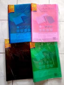 Bantex trendy display book folio, 20 pocket bahan pp.
