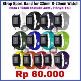 Strap Sport Band Xiaomi Amazfit BIP - Hanya Tali Pengganti - READYSTOK