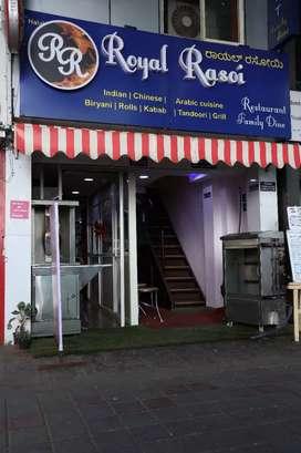 Well running restaurant.cash sale 23 k.online sale 1 to 2k per day