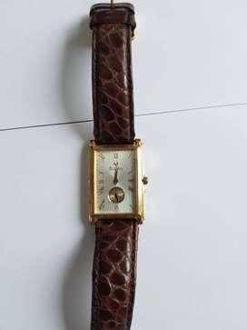 Jam Tangan Bulova Original Leather - Mulus & Mewah