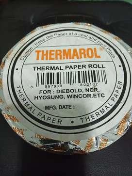 Thermal Paper Roll (Thermarol) Ukuran 135mm x 75mm