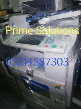 Prime Solutions provide color Photocopiers and Printer and scan