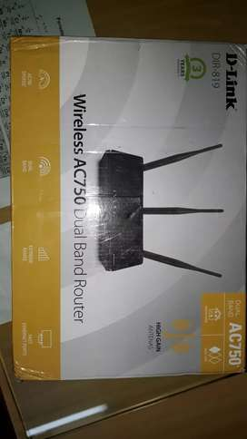 D -link router wireless