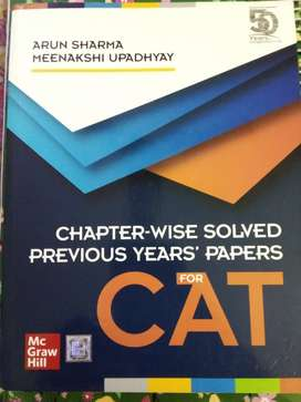 ARUN SHARMA* CAT book ...
