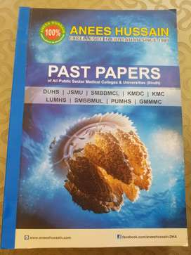 MDCAT preparation books with past papers
