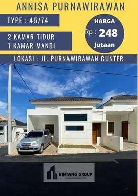 Rumah mewah minimalis Griya Annisa Purnawirawan