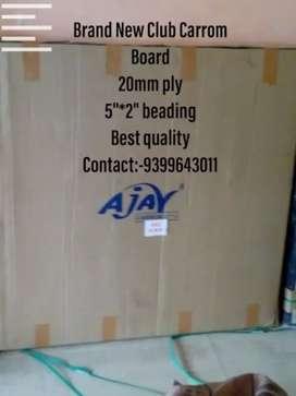 New Club Carrom Board 20mm ply